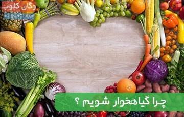 چرا گیاهخوار شویم؟ اثرات مثبت گیاهخواری