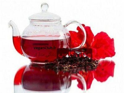چای ترش برای کاهش چربی شکمی