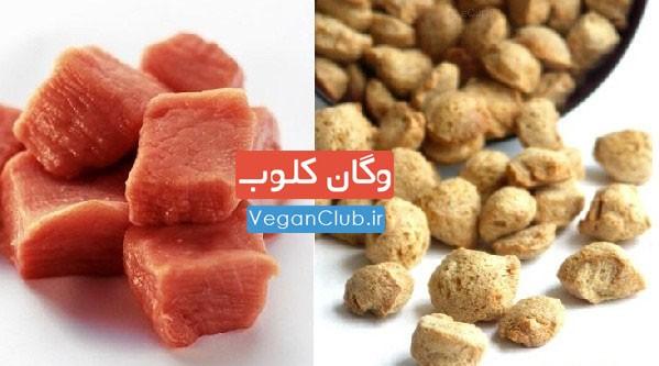 مقایسه گوشت با سویا ( قسمت اول )